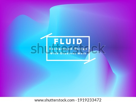fluid background design with