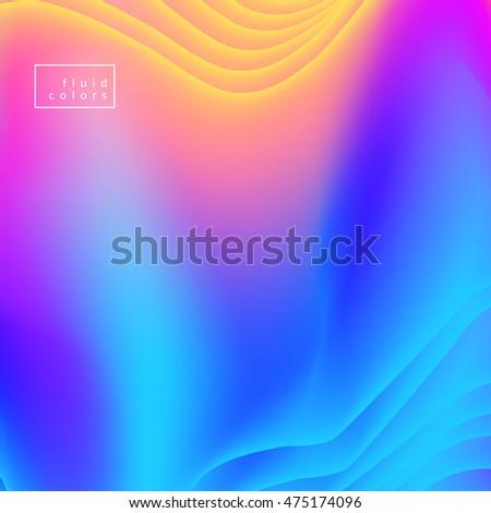 fluid colors background mesh