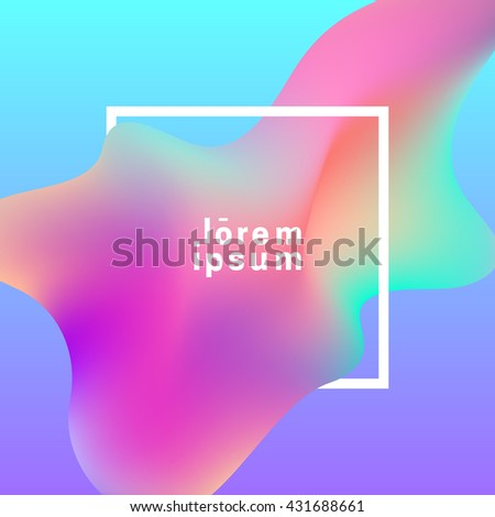 fluid colors background with