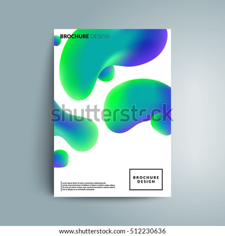 fluid colors cover design