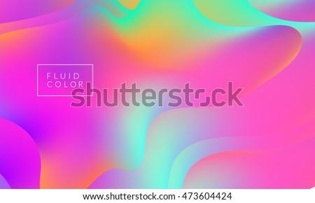 fluid colors wallpaper bright