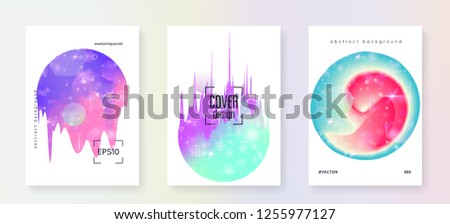 Fluid dynamic. Neon layered hologram. Soft flyer. Modern holographic gradient, blur, mesh, blend. Futuristic background. Psychedelic composition. Fluid dynamic with shapes and elements.