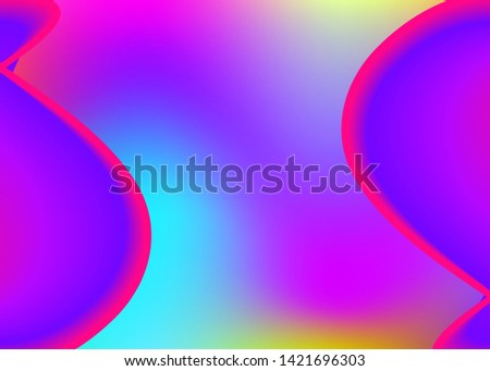 Fluid dynamic. Soft wallpaper, invitation composition. Holographic 3d backdrop with modern trendy blend. Vivid gradient mesh. Fluid dynamic background with liquid shapes and elements.