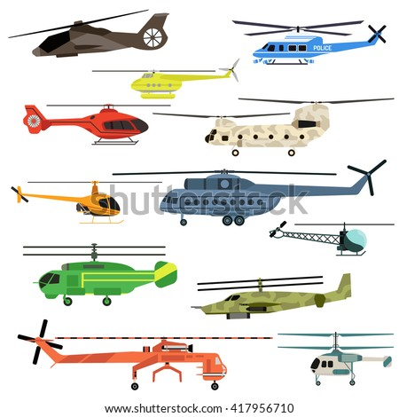 fly helicopters collection
