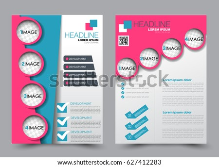 pink flyer template download free vector art stock graphics images