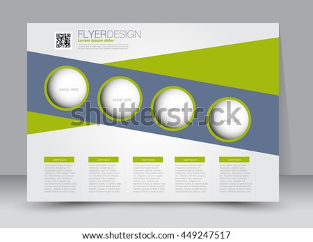flyer brochure billboard magazine cover template design landscape