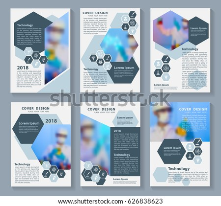 flyer cover business brochure