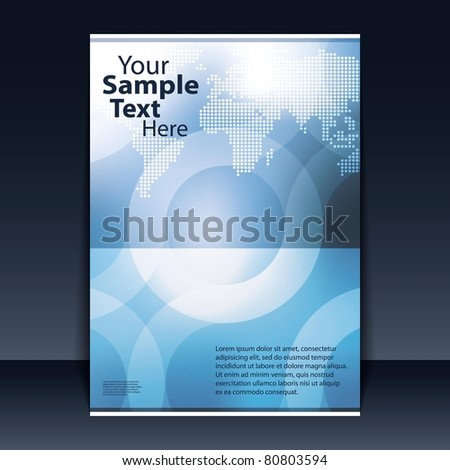 Flyer Design - Business - stock vector