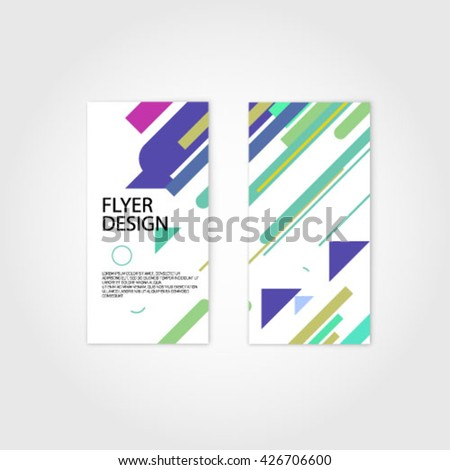 flyer design 2d motion graphics