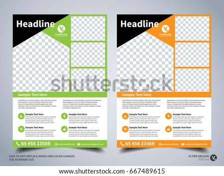 flyer layout download free vector art stock graphics images
