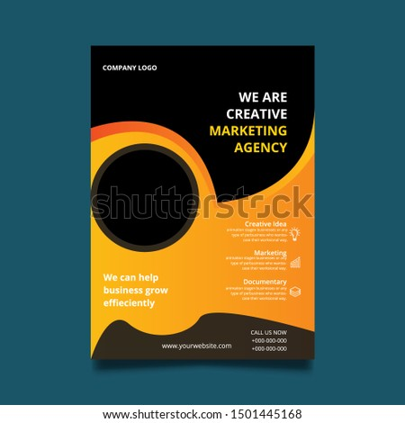 Flyer, Marketing Flyer. Agency Flyer. Business Flyer. Creative Flyer.d