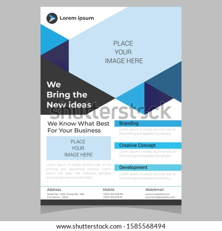 Flyer Template | Poster design | Corporate Flyer | Business Flyer