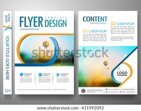 brochure report business magazine cover book portfolio presentation and abstract