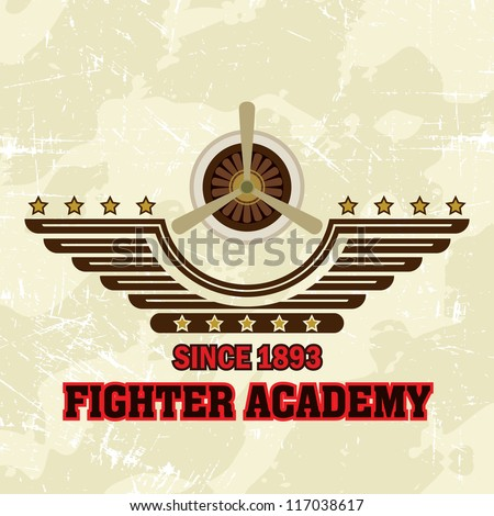 flying academy emblems