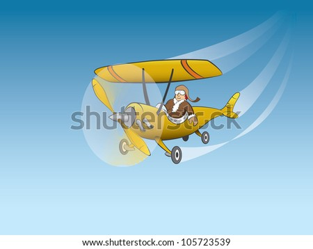 Flying aircraft
