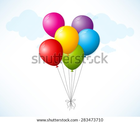 Flying balloons