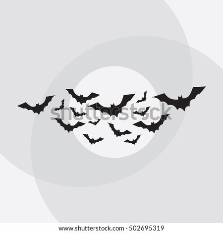 Flying bats vector. Bat cartoon. Bat vampire. Bat animal. Bat isolated. Bat vector. Bat halloween. Bat illustration.
