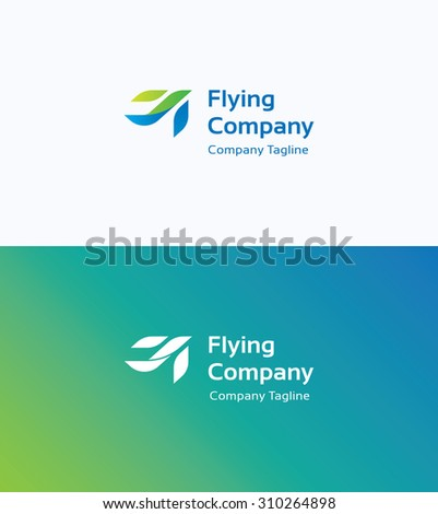 flying company logo