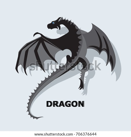 flying dragon mythical animal