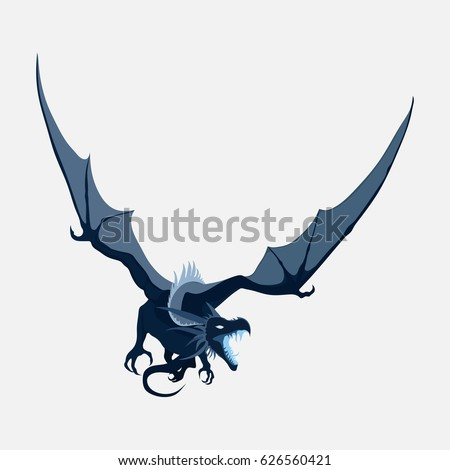 flying dragon  zodiac symbol
