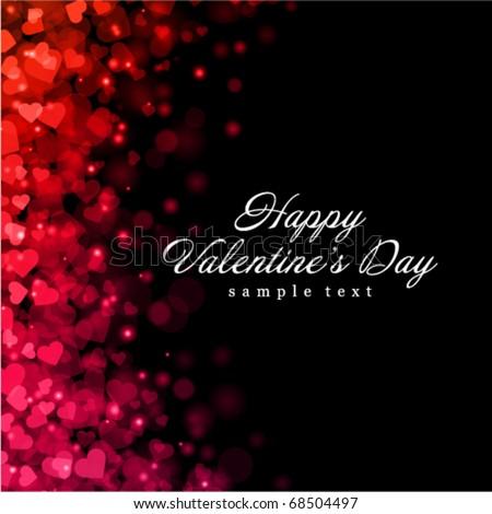 flying hearts valentine's day