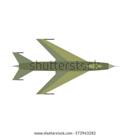 flying jet fighter icon flying
