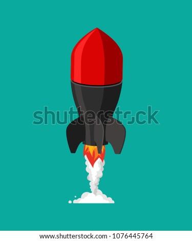 flying missile military rocket