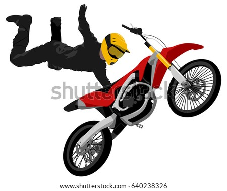 fmx freestyle motocross jump