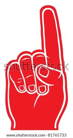 foam finger