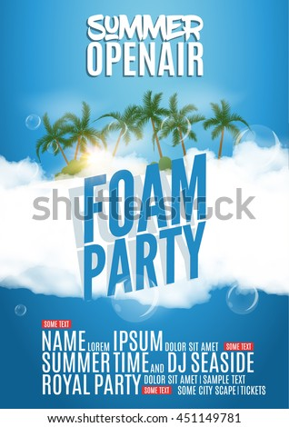 foam party summer open air