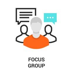 focus group icon.