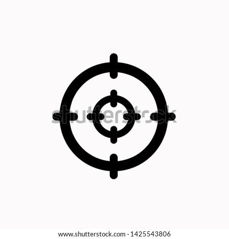 Focus icon,vector illustration. Flat design style. vector focus icon illustration isolated on White background, focus icon Eps10. focus icons graphic design vector symbols.