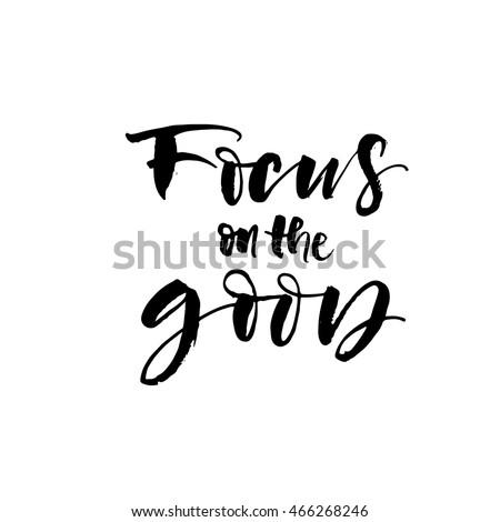 focus on the good card hand