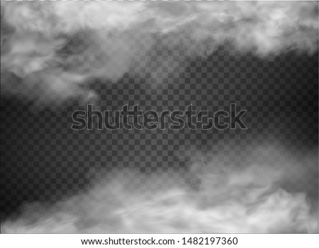fog and smoke isolated on transparent background  Сток-фото ©