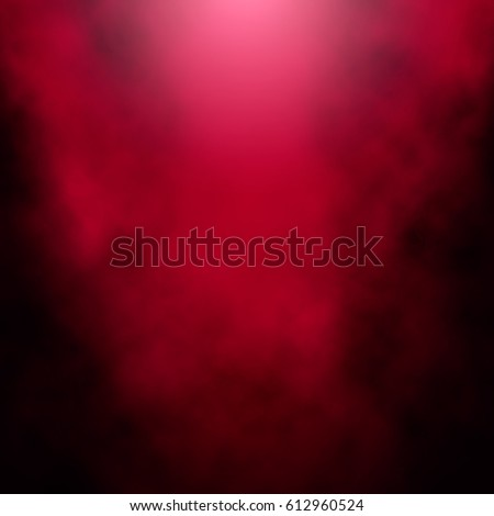 fog or cigarette smoke on a red