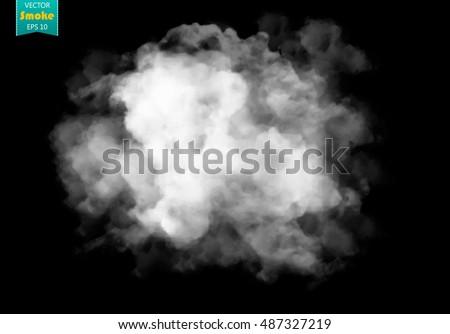 fog or smoke isolated