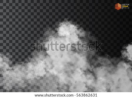 fog or smoke isolated