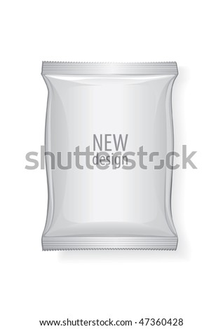 Foil package, vector for new design