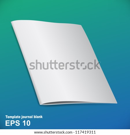 Folded brochure template for your presentation