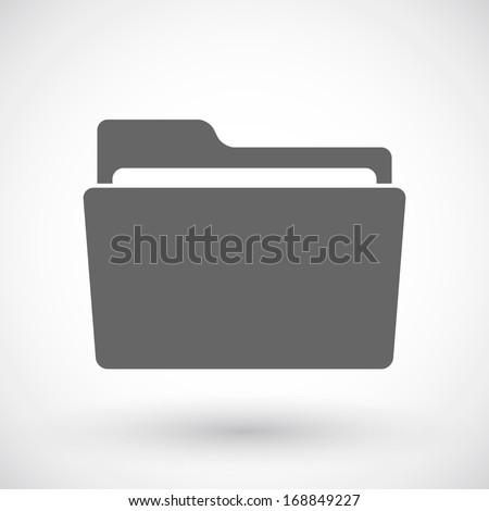 Folder icon Zdjęcia stock ©
