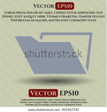 Folder icon or symbol
