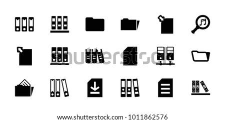 folder icons set of 18