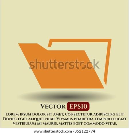 Folder symbol