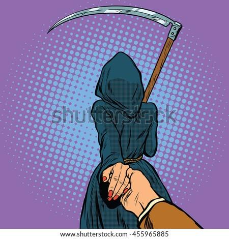 follow me  the grim reaper