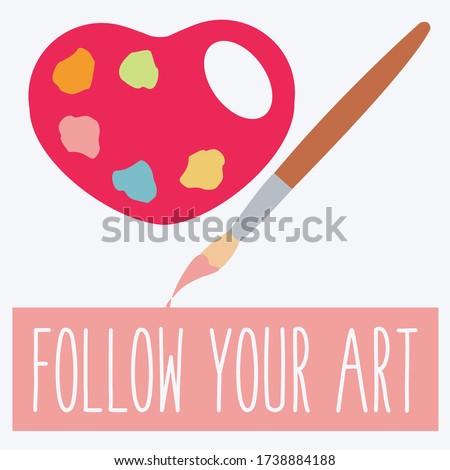 follow your art concept