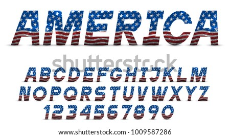 Grunge Stripes Alphabet Set - Download Free Vector Art, Stock