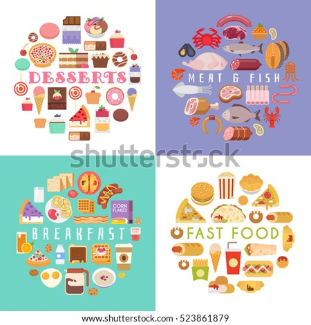 food and drink flat