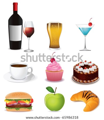 Food and drink icon