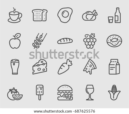 Food and Drink line icon