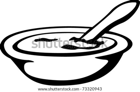 food bowl with spoon